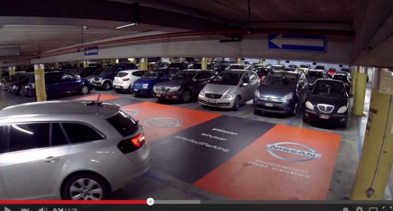 Nissan Einparkhilfe