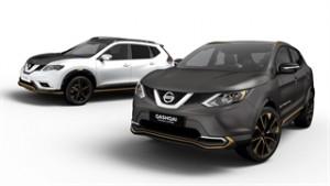 Nissan Crossover zeigen Premium-Potenzial