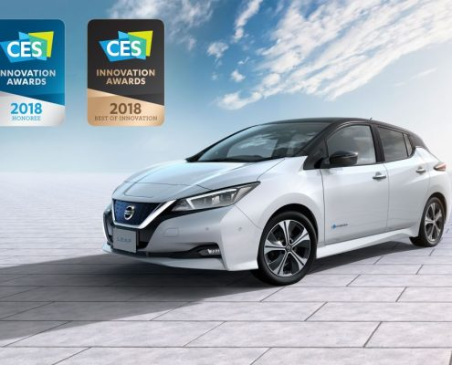 "Nissan Leaf gewinnt ""Best of Innovation""-CES 2018 Award"